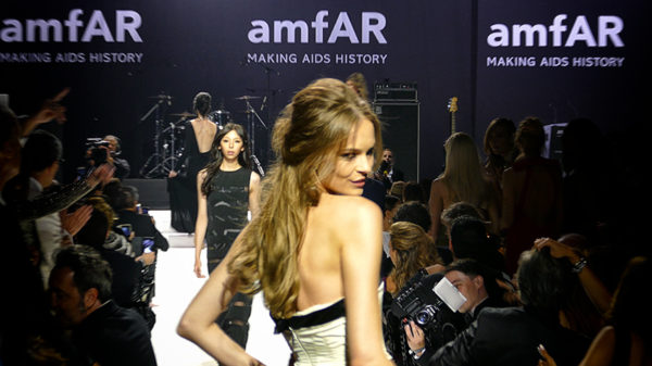 The AmFar fashion show at 2016 Cannes Film Festival