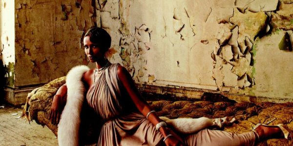 Iman Glamour in a 2012 Harper's Bazaar Photo Shoot