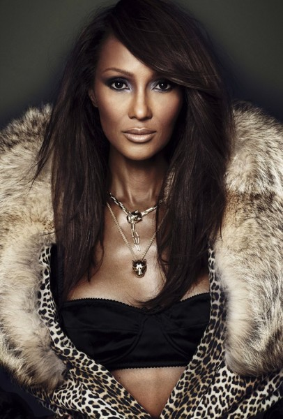 Iman for Revista S Moda Magazine