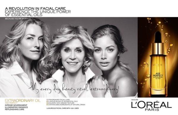 Jane Fonda, Doutzen Kroes + Tatjana Patitz Prove Beauty is Ageless in New L'Oreal Ad