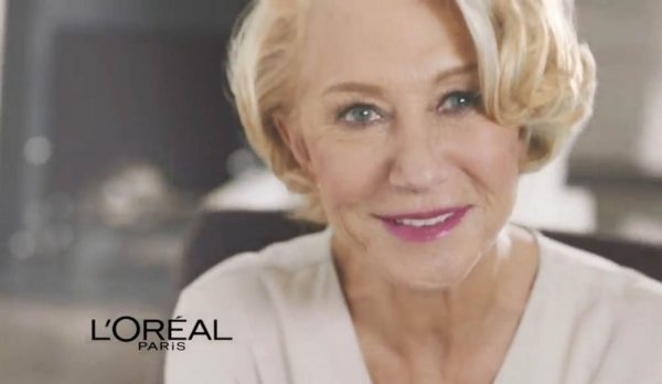 L'Oreal Paris' Helen Mirren