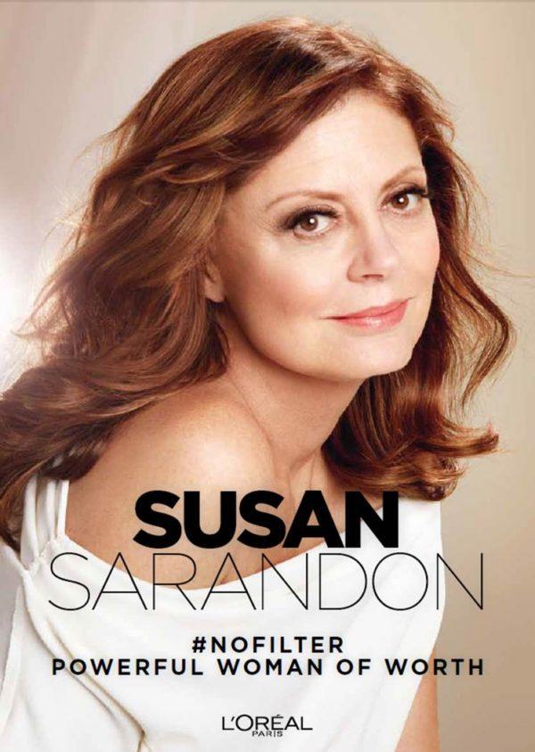 L'Oreal SUSAN SARANDON