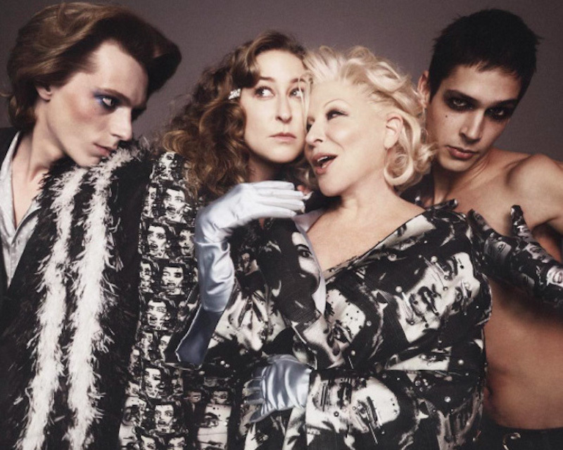 Bette Midler was recently featured in the MARC JACOBS SS16 Campaign