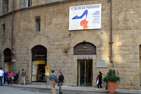 The Salvatore Ferragamo museum in Florence is not your average fashion museum, but a permanent tribute to Ferragamo's legacy.