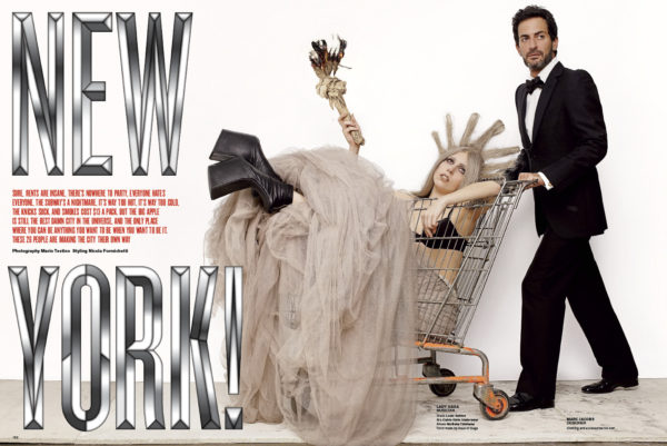 V Magazines New York Issue Cover Story by Mario Testino September 2010