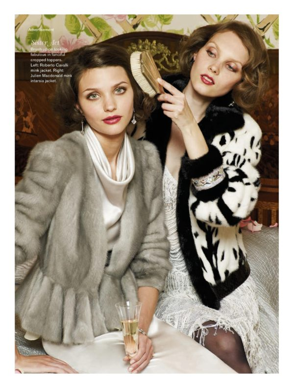 Vogue campaign with Mimi