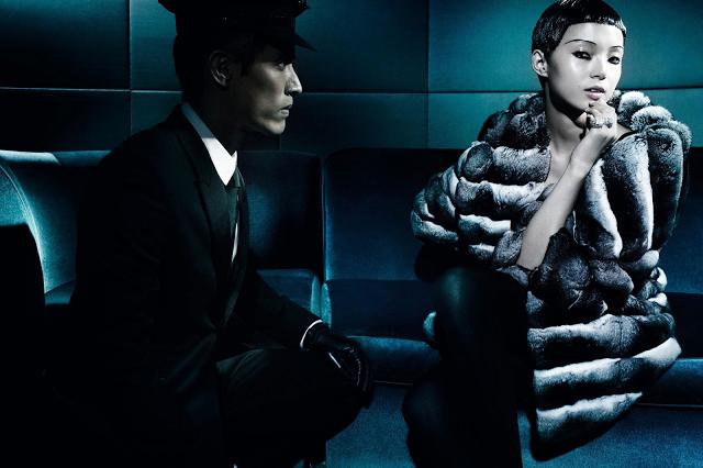 Xiao Wen Ju by Mario Testino (The Winter Queen - Vogue China December 2013)