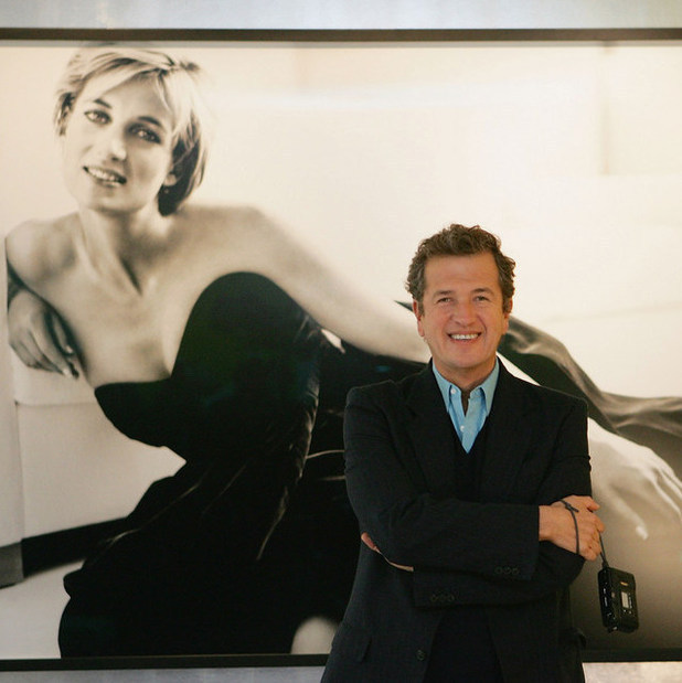 "LONDON - NOVEMBER 22: Photographer Mario Testino attends the press view for ""Diana, Princess Of Wales By Mario Testino"" at Kensington Palace on November 22, 2005 in London, England. The exhibition features photographic images by Testino from Diana's last portrait sitting, five months before her death in Paris in 1997. The event opens this evening with a champagne reception and private view."
