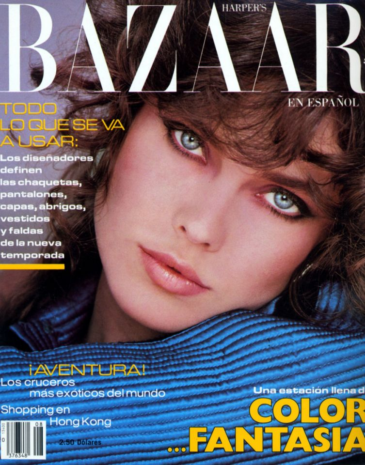 Carol Alt on the cover of Vogue