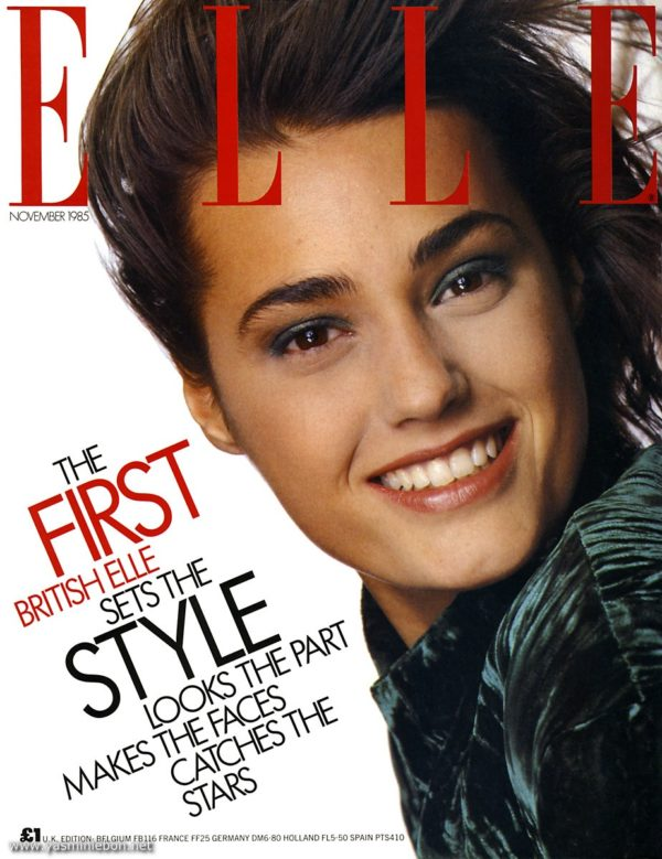 Elle UK 1985 featureing Yasmin LeBon
