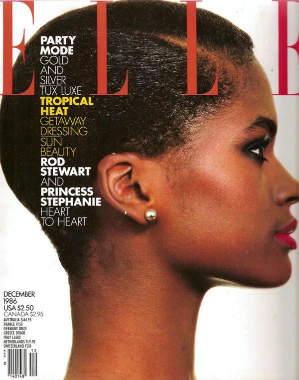 Karen ALexander Elle Magazine 1986