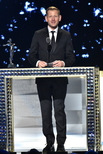 Designer Paul Andrew accepts The Swarovski Award For Accessory Design at the 2016 CFDA Fashion Awards