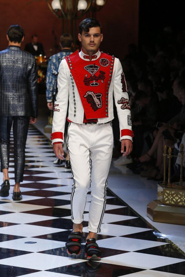 Dolce & Gabbana Spring 2017 Menswear