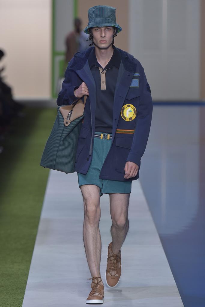 Fendi Men's Spring 2017