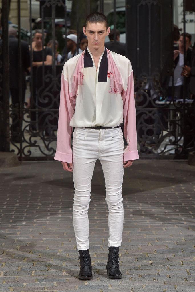 Haider Ackermann Menswear 2017 Spring