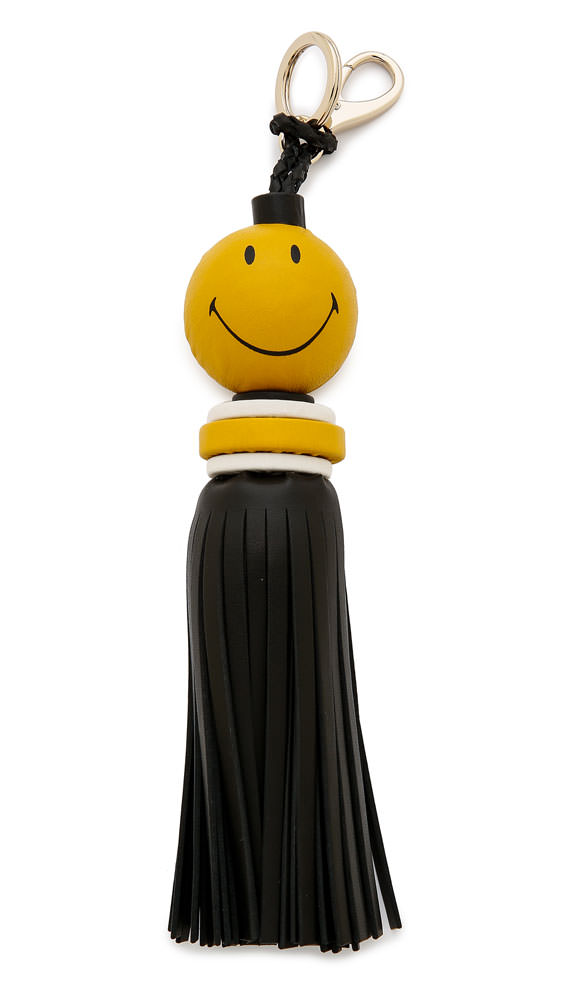 Anya Hindmarch Smiley Tassel