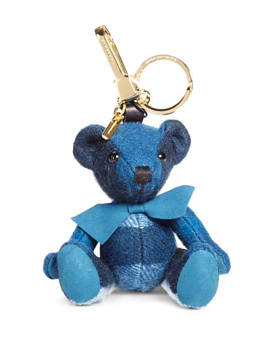 Burberry Thomas Check Bear Bag Charm