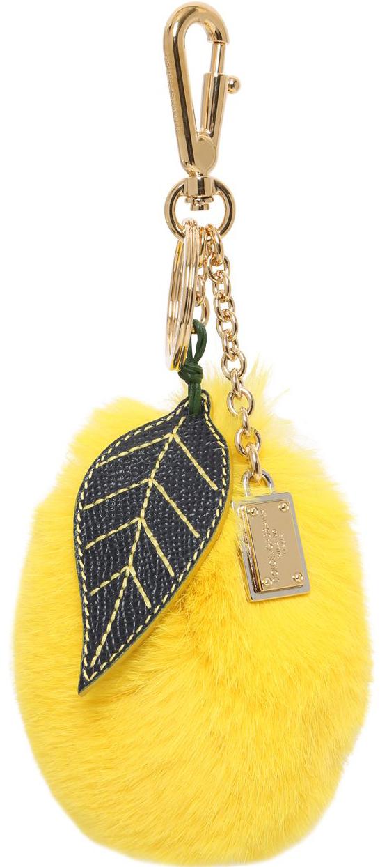 Dolce & Gabbana Sicilian Fruit Lapin bag charm