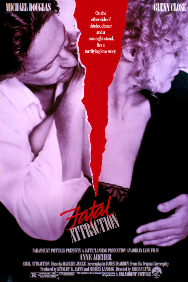 Fatal Attraction starring Glenn Close and Michael Douglas