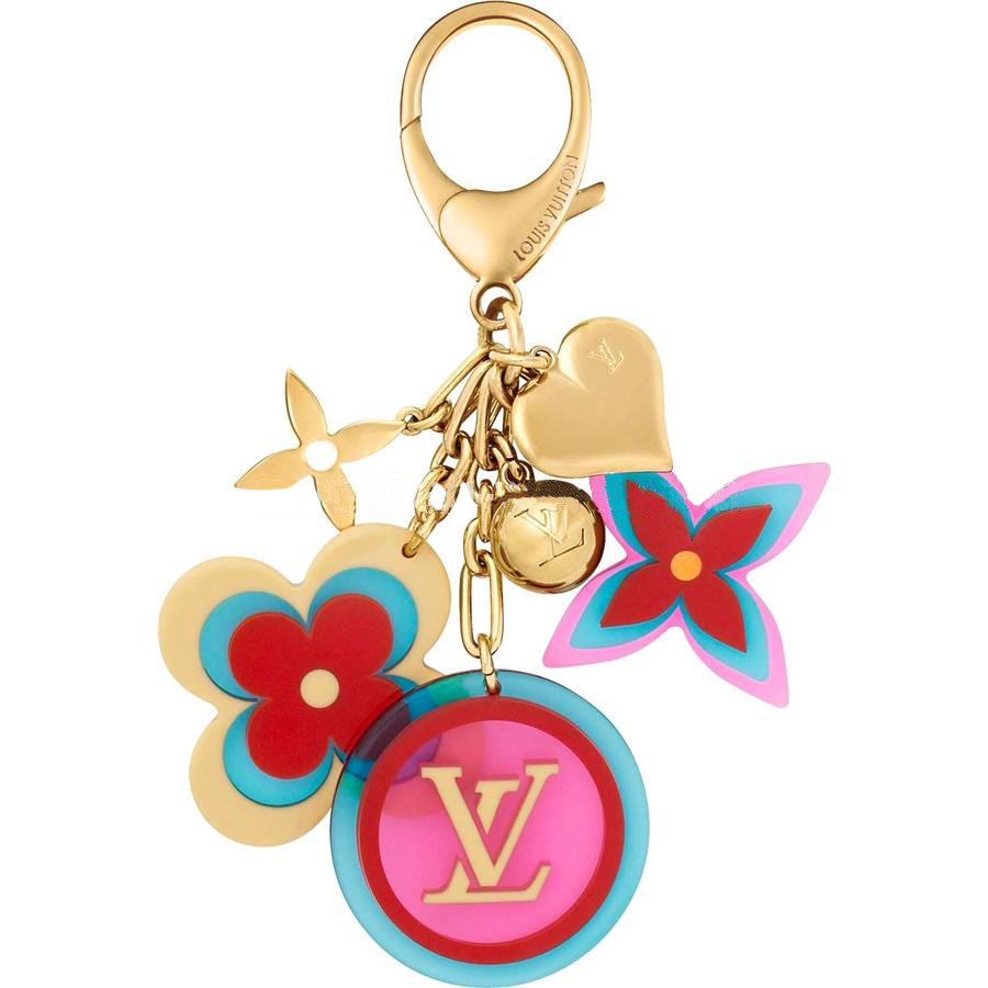 Louis Vuitton enamel charm