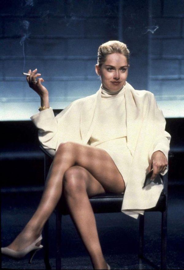 No one can cross their legs quite like Sharon Stone did in 'Basic Instinct.'