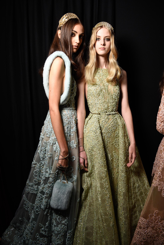 Paris Haute Couture Fashion week Fall Winter 2015-2016 Elie Saab
