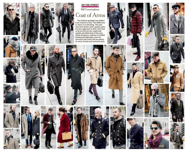 Famed fashion photographer Bill Cunningham was the arbitor of New York streetstyle for both men and women season after season