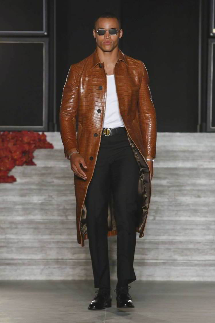 Brioni Fall Winter 2016 Couture Runway Show Justin Oshea Collection