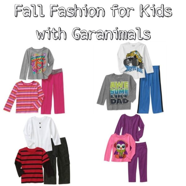 Garanimals offers clothing from newborn all the way up to 5T. The clothing is color matched to make dressing a child easy and effortless