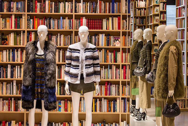 50 000 Books at the Sonia Rykiel Store in