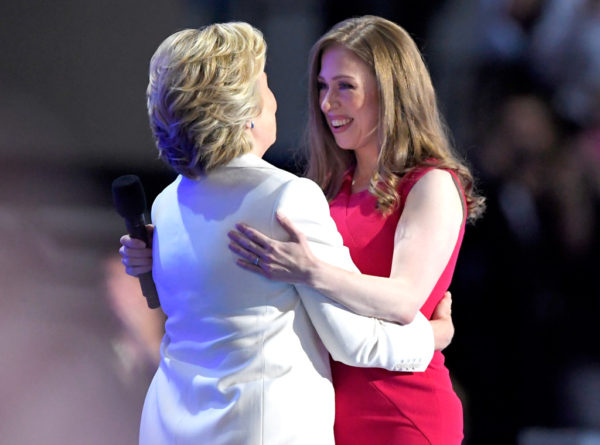 Chelsea Clinton gracefully introduced her mother at the Democratic National Convention
