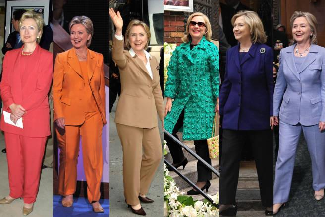 Hillary Clinton's minimilast clean style