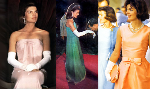 Oscar de la Renta was a go-to designer for Jackie Kennedy