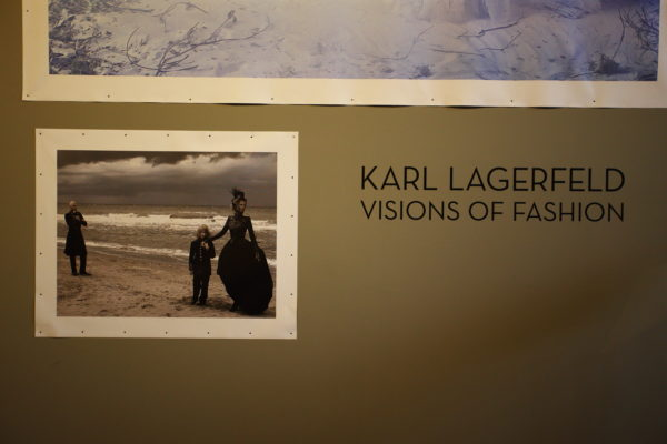 "Karl Lagerfeld's ""Visions of Fashion"" Exhibition at Pitti Uomo"