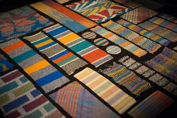 The hallmark of the Missoni brand is their use of vibrant colors and bold patterns