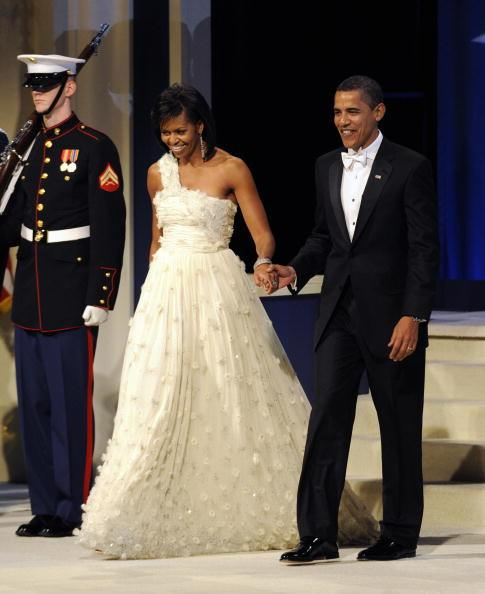 Michelle Obama's iconic 2008 Jason Wu Inaugural gown