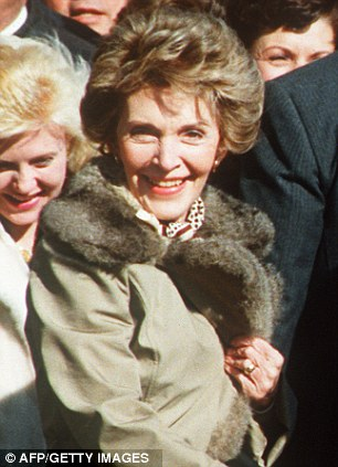 Nancy Reagan, pictured in 1980