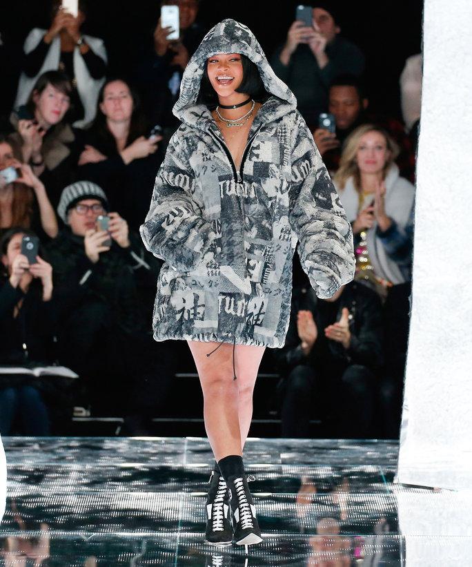 Rihanna's line for Puma