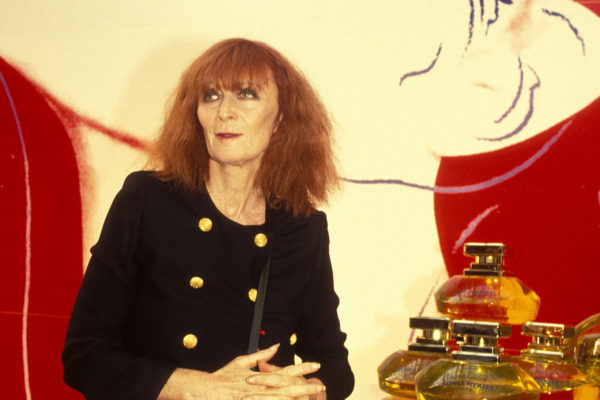 Sonia Rykiel showcasing her namesake perfume
