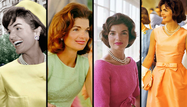 Jacqueline Kennedy in multiple looks by Oleg Cassini