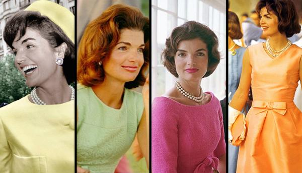 Jacqueline Kennedy in multiple looks by Oleg Cassini