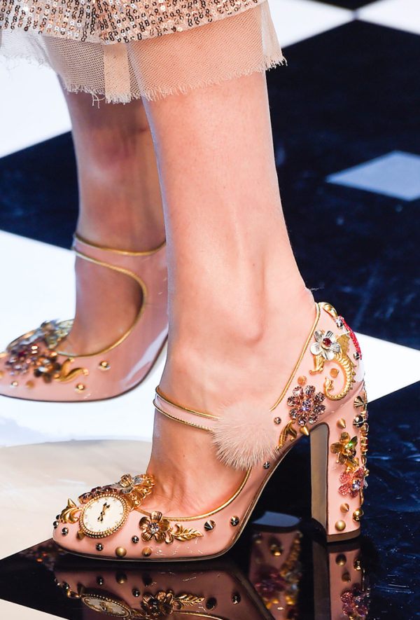 Dolce & Gabbana fall 2016 footwear