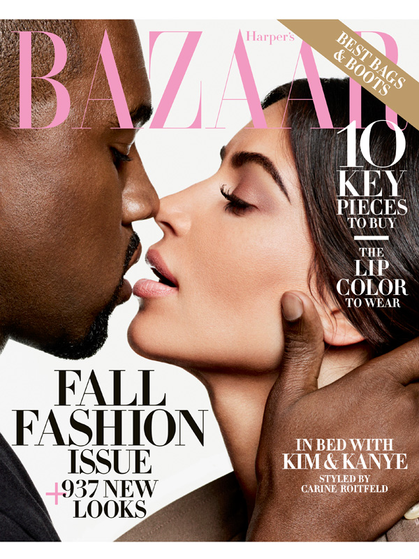 Harper's Bazaar September 2016 cover image