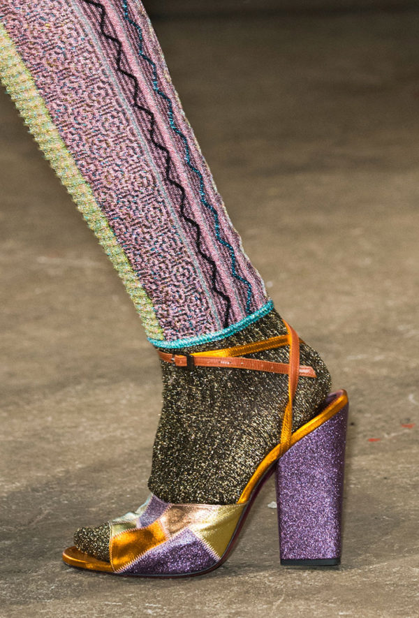 Missoni fall 2016 shoes