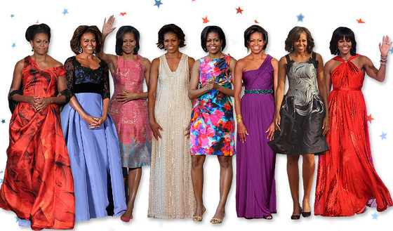 Some of the best fashion looks worn by First Lady Michelle Obama