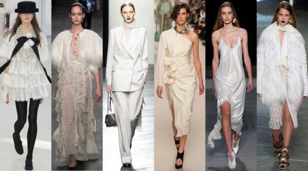 Chanel, Valentino, Bottega Veneta, Lanvin, Narcisco Rodriguez, Rodarte