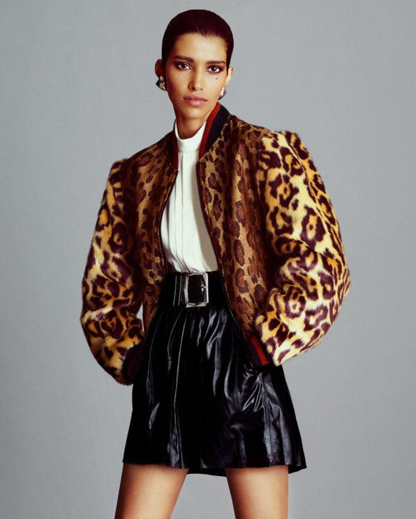 Leopard: Porter Magazine Fall 2016