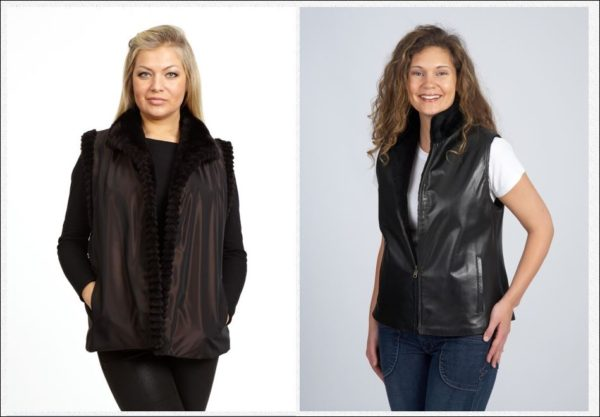 At Ribnick Luxury Outerwear, their Master Furrier can taper the collar, soften the shoulder or update the length. Let us take it in, let it out, shorten, lengthen or go for a totally new look! Your coat can be transformed into a new style, be it a contemporary vest or chic bolero jacket.