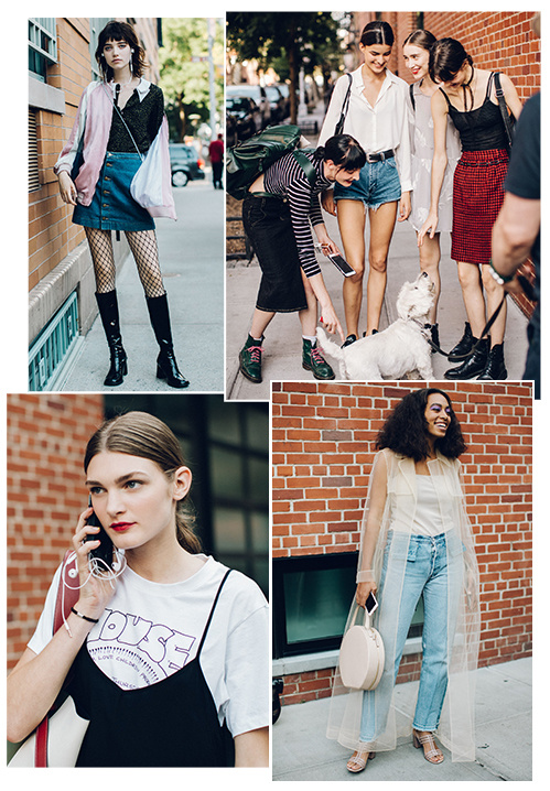 Street style at New York Fashion Week Spring/Summer 2017