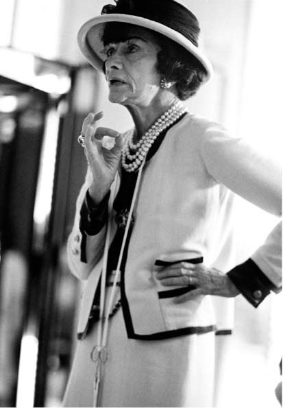 If a fashion icon like Coco Chanel would wear white year-round why couldn't I